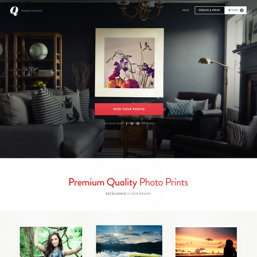 Bold canvas printing site