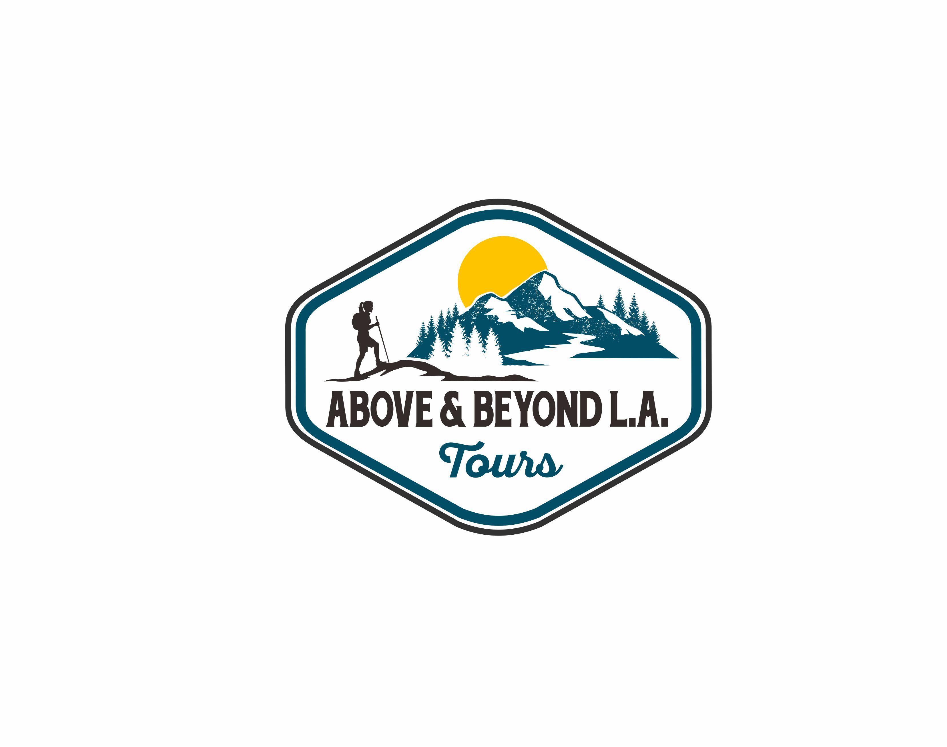 Mountain adventure logo