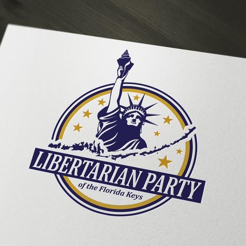 Logo for Libertarian Party of the Florida Keys