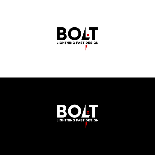 logo for a bolt design