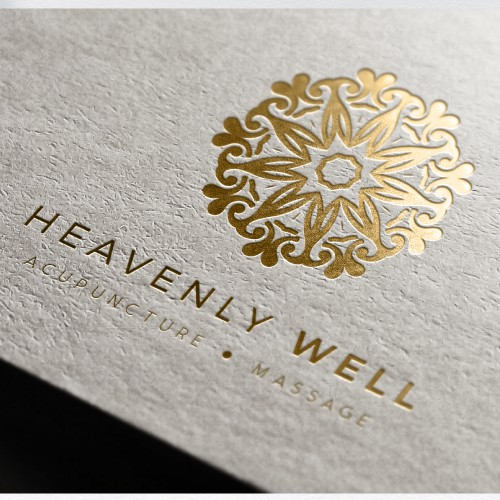 Logo for HeavenlyWell