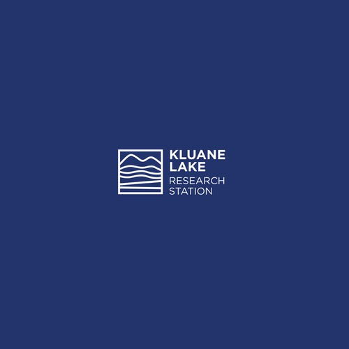 Create a modern logo for a subarctic research station in Yukon, Canada