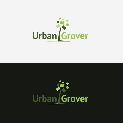 "Logo for "" about growing ""course"