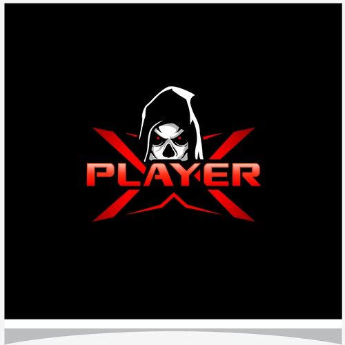 Logo for Player X.