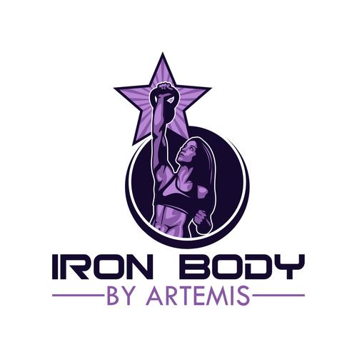 IRON BODY logo.