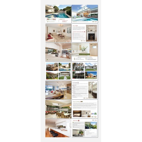 """Winning Entry for """" Create a brochure for the Brisbane Renovation Specialists """""""