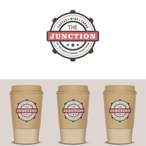 """Logo for Restaurant name """"Junction"""""""