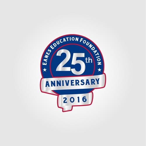 25 th Anniversary Logo Design