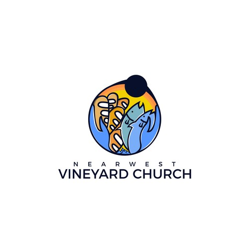 Vineyard Church ( Fish and Bread Concept)