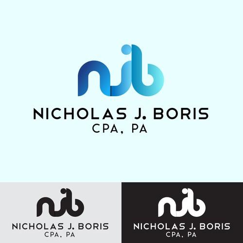 Logo concept for an accountant