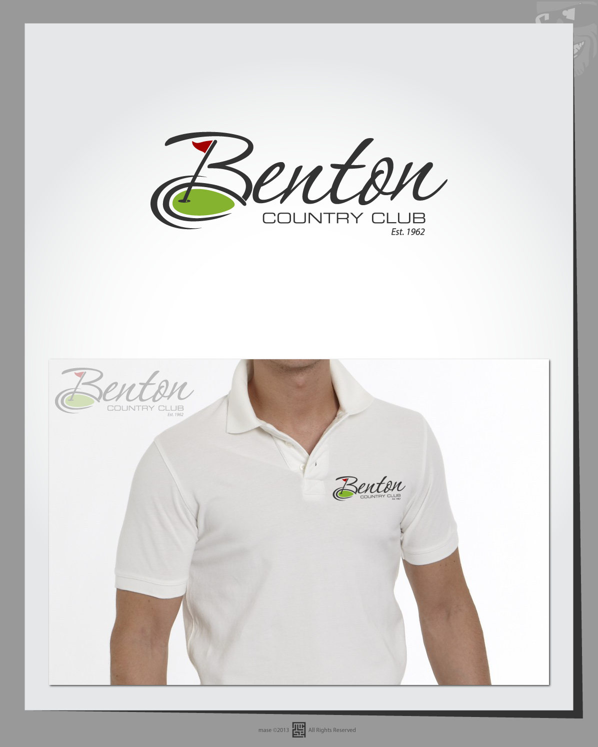 "Help ""Benton Country Club"" and (possibly w/initials) ""BCC""  with a new logo"