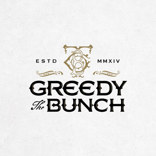 Logo for The Greedy Bunch.