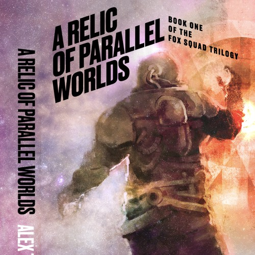 Sci Fi novel cover