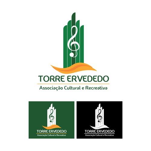 Proposta de design de logotipo para banda TORRE ERVEDEDO