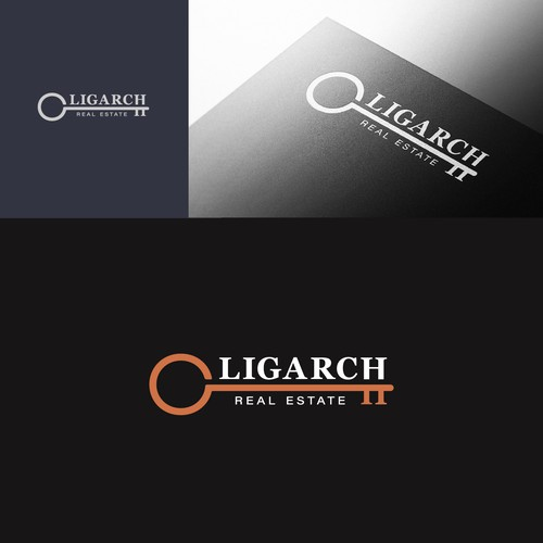 Logo for risque luxury real estate brokerage