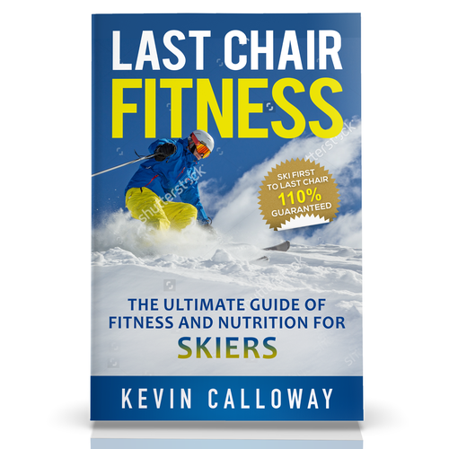 Fitness Guide for Skiers Needs a Book Cover