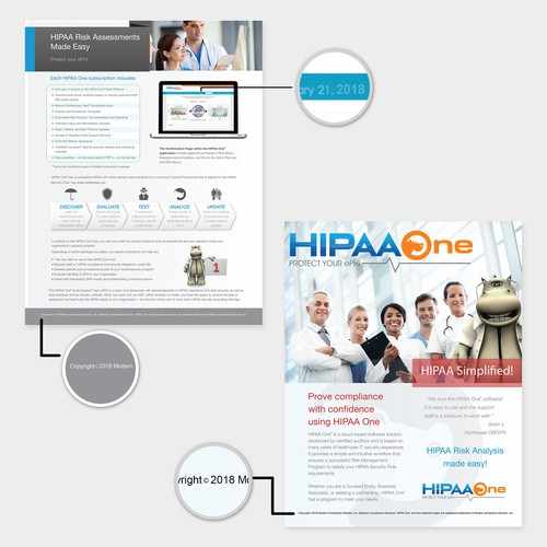 brochure for HIPAA ONE