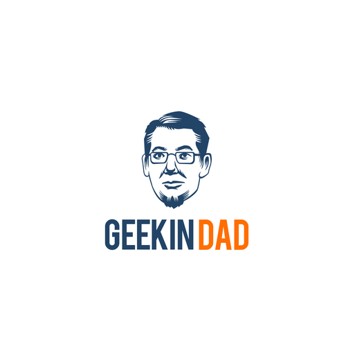 Bold Scratchboard style Logo
