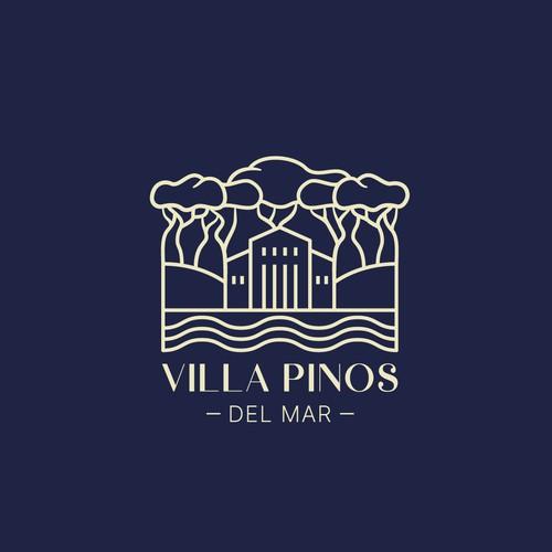 Monoline Villa Logo Concept