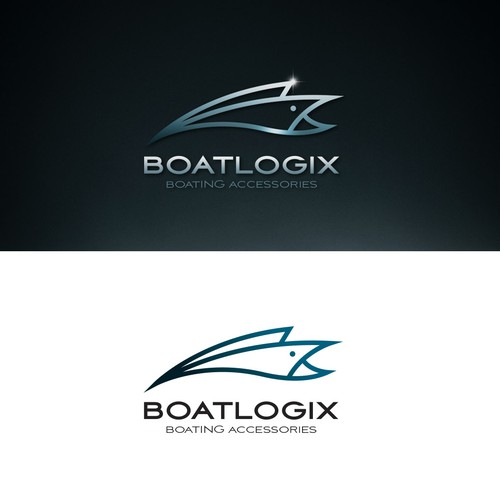 premium logo for boating accesories