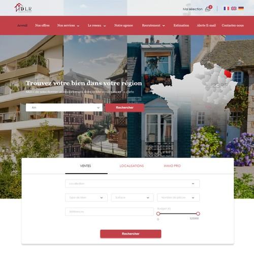 Créer l'arrière page d'un site internet