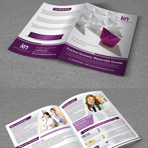 Bi-Fold Brochure for KN Consultants