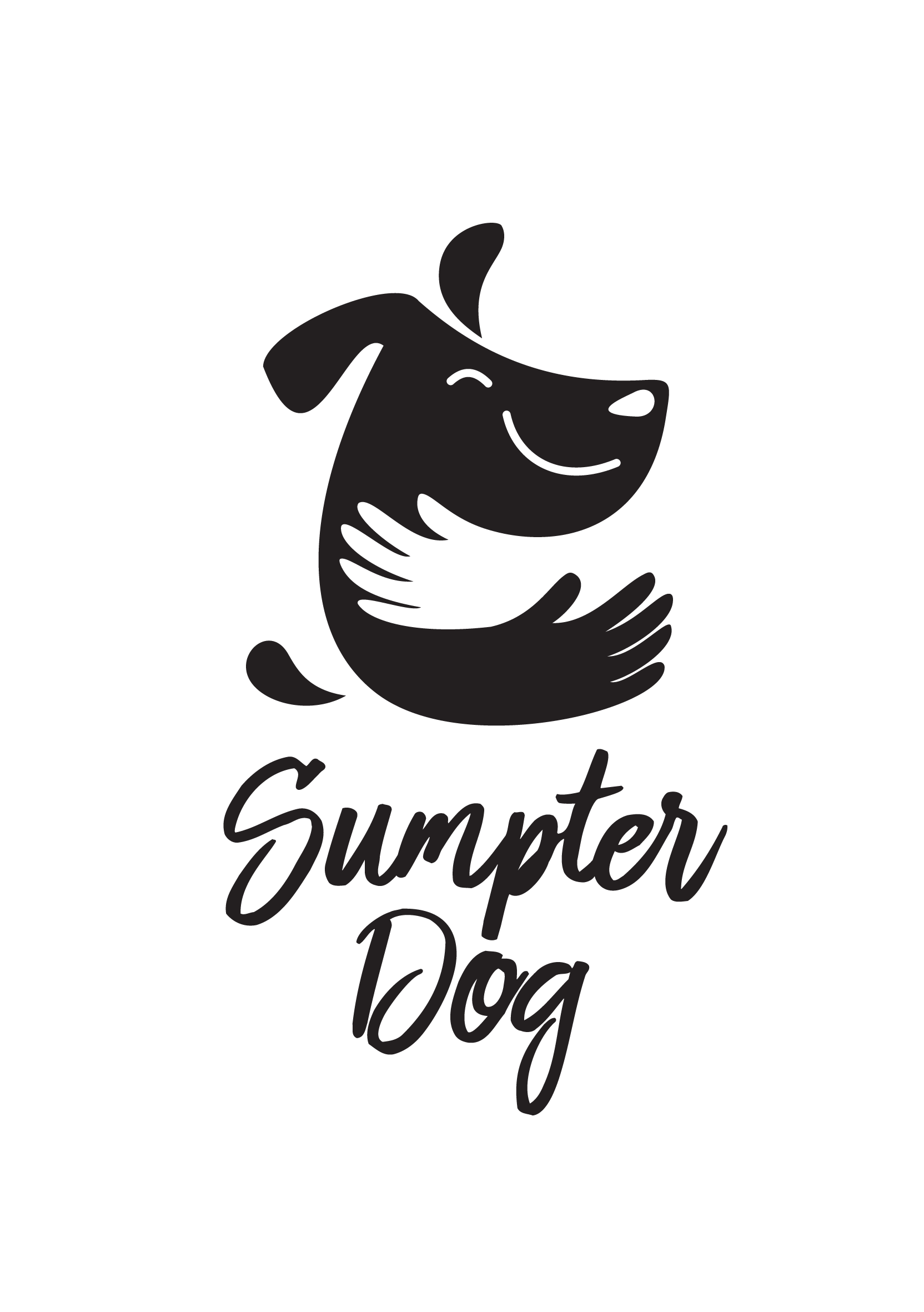 Create a simple and fun logo for people who love dogs!