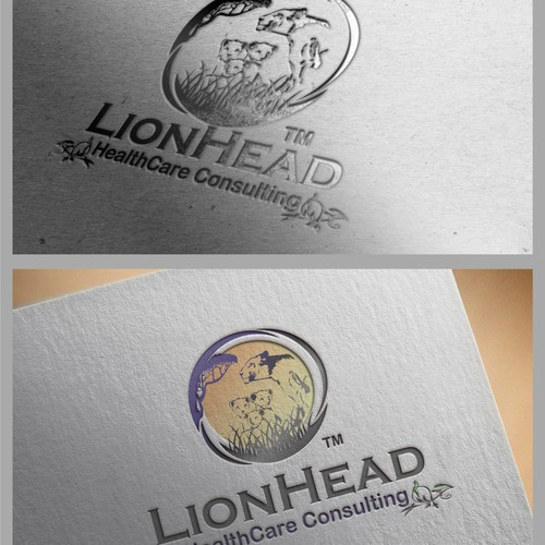 Logo concept for Lion Head