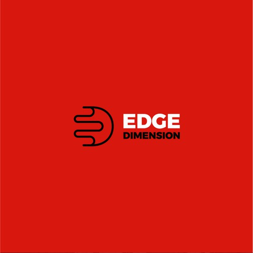 Logo Design for a 3D studio - Edge Dimension