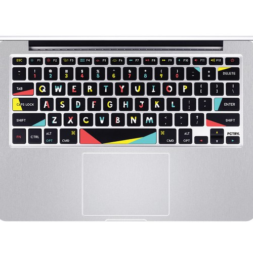 Keyboard sticker design