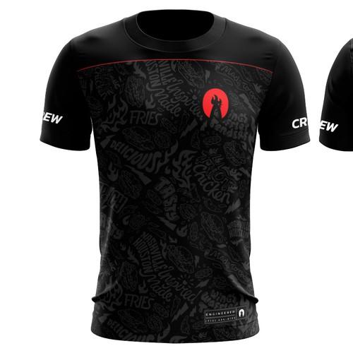 Soccer Jersey design for Hot Chicken restaurant