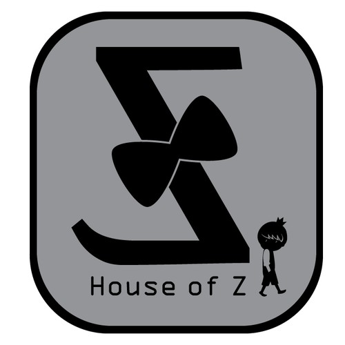 Create a logo for a fashionable, yet sophisticated children's clothing store called...House of Z!