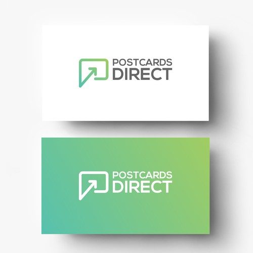 Simple Logo For Postcards Direct