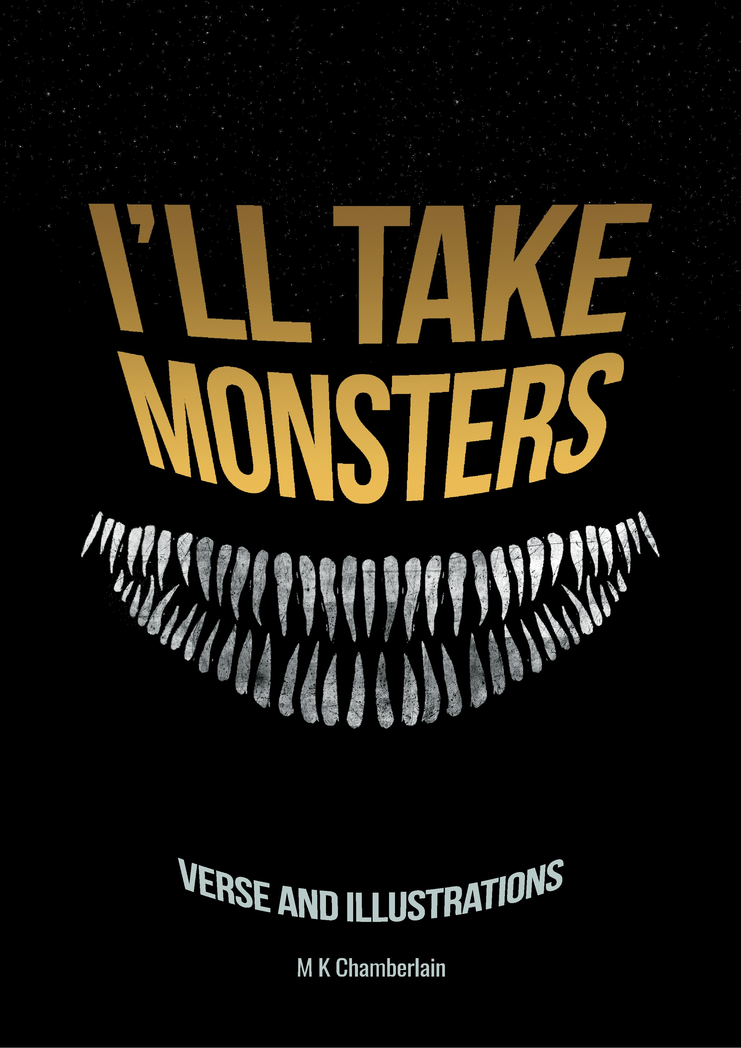 I'll Take Monsters - Book Cover Design