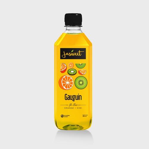fruit jus label