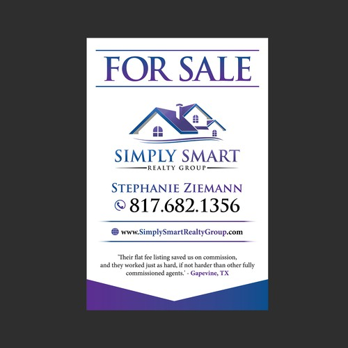 For Sale/Real Estate Signage