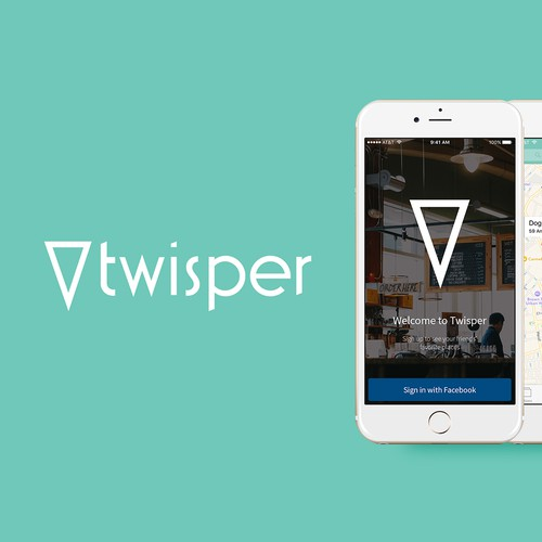 Twisper Travel rebranding and app design