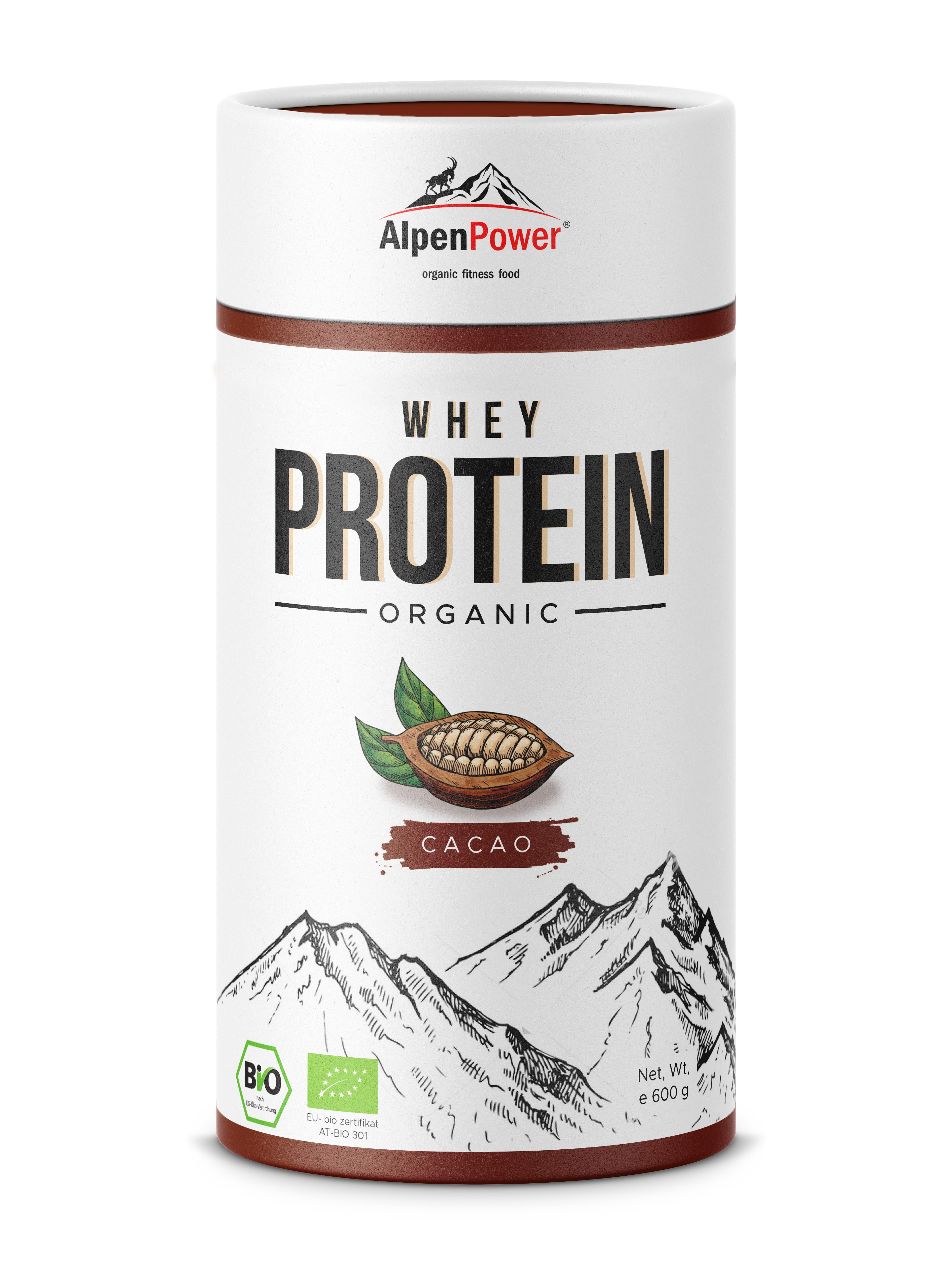 New Packaging Design for Organic Whey Protein (sports nutrition)