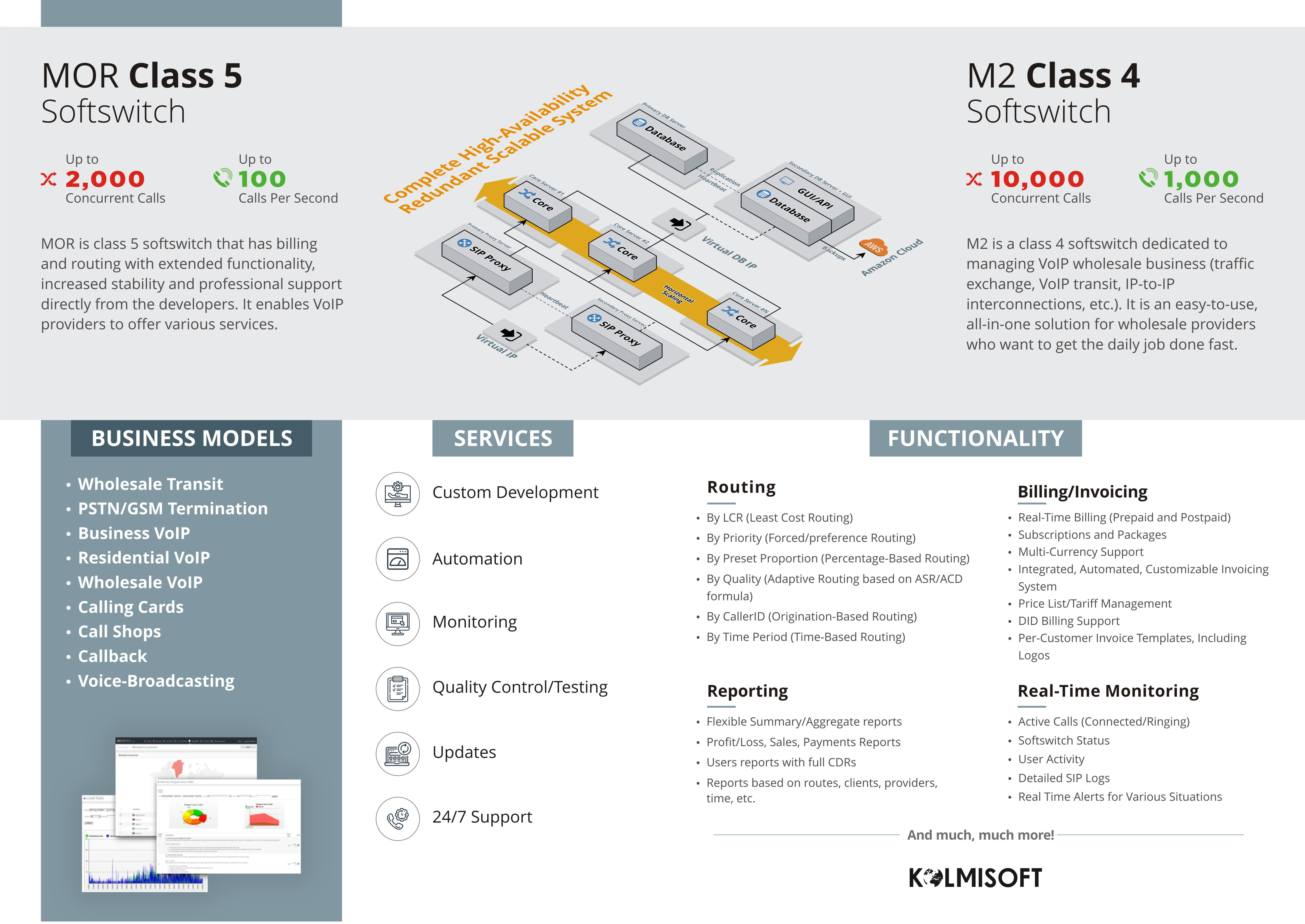 Brochure for the Software Dev. Company A5 Bi-Fold