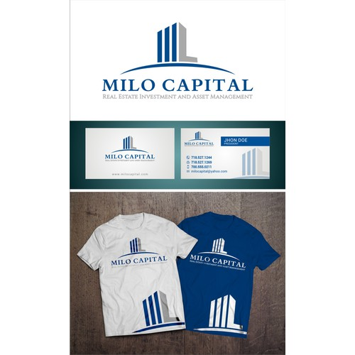 create a logo for a real estate investment company