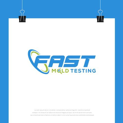 Fast Mold Testing Logo Design