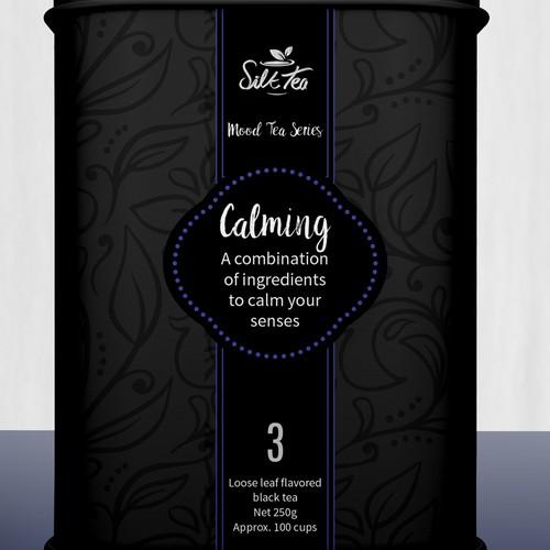 Luxury Tea Tin Design