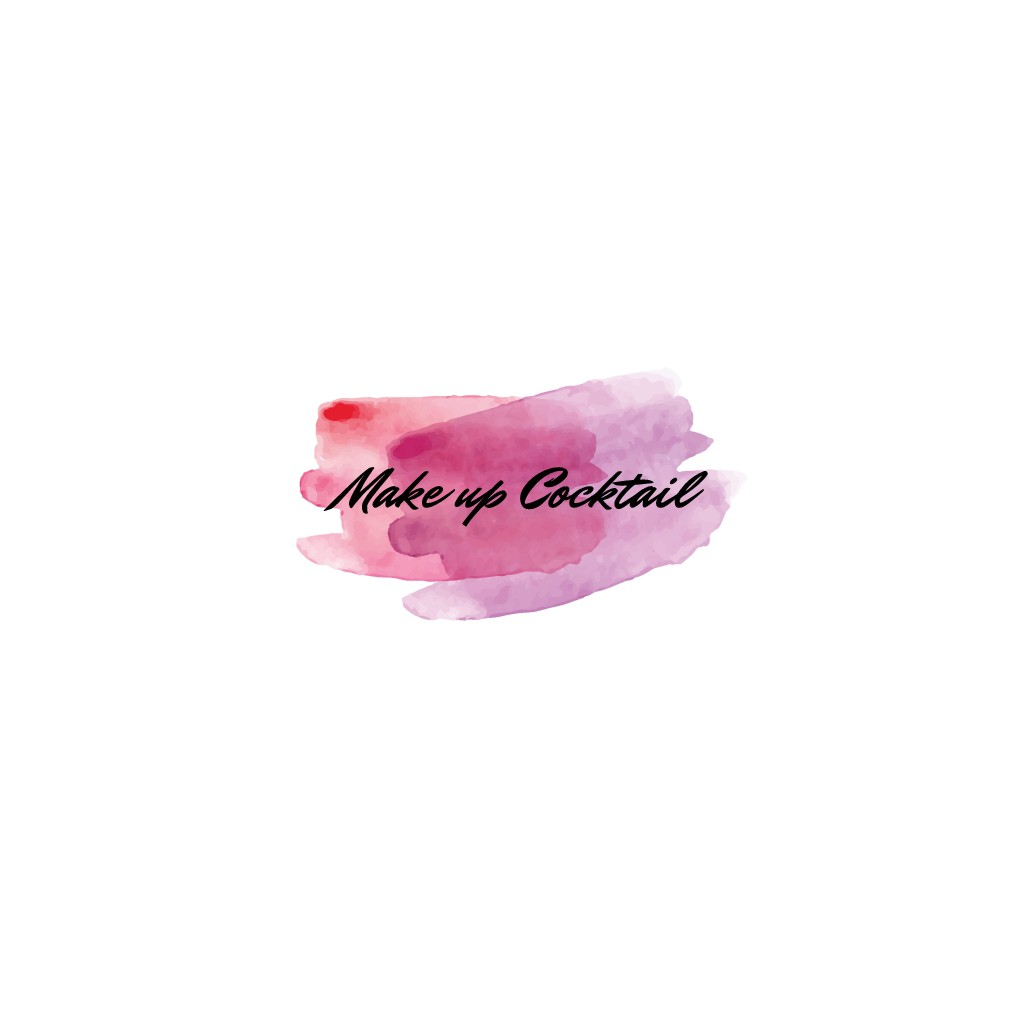 Create a logo for a Make up Artist who loves to mix make up and cocktails