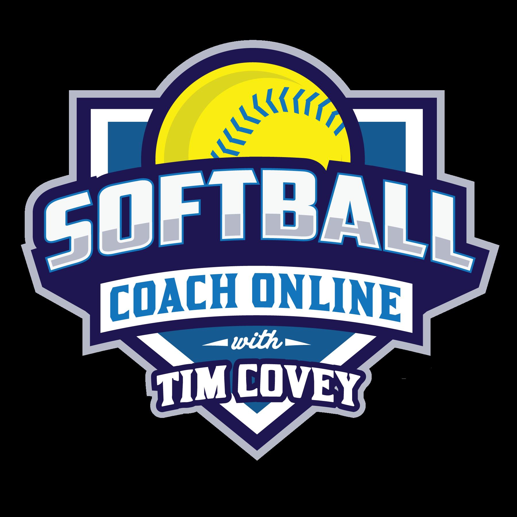 Softball Coach Online Logo.  Creating a Logo for a brand that provides training for softball coaches