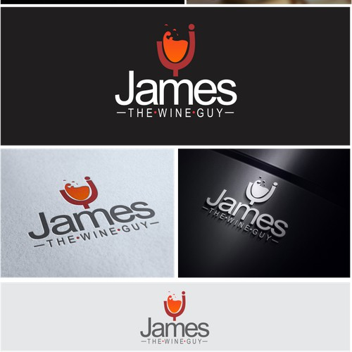 James the Wine Guy needs a new logo