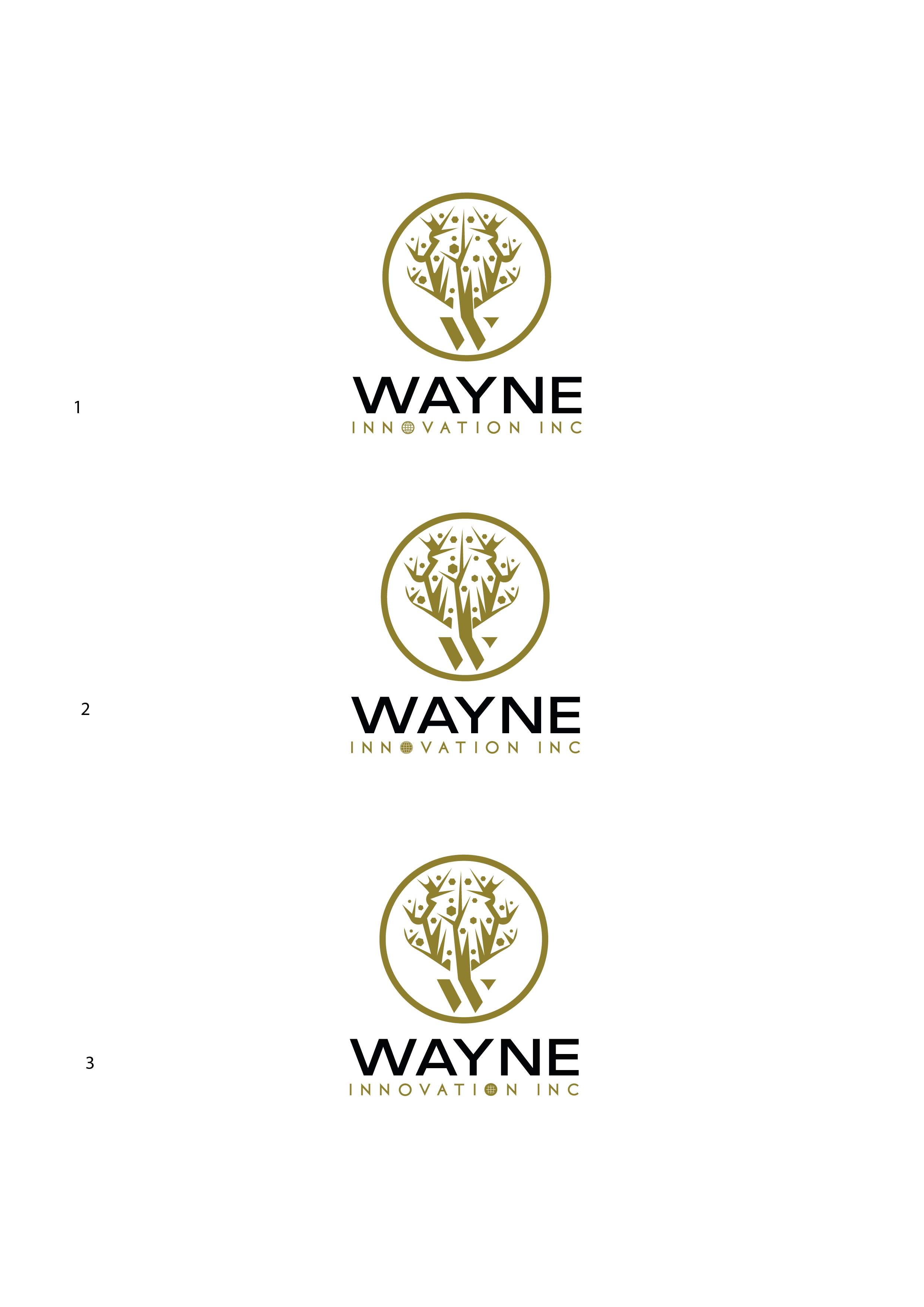 Bruce Wayne/Batman needs logo for Wayne Innovation
