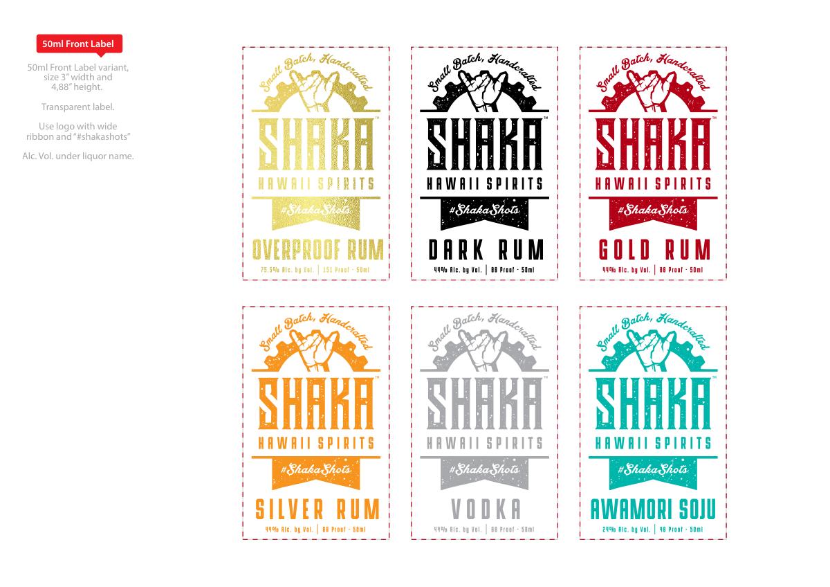 Shaka Bottle Designs