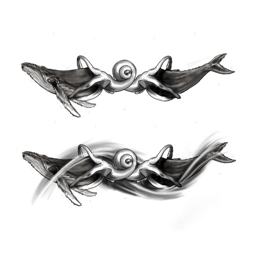 WHALE AND COCHLEA