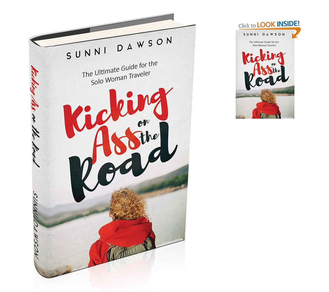 Create a Kick Ass Cover for a Kick Ass book for solo women travelers!