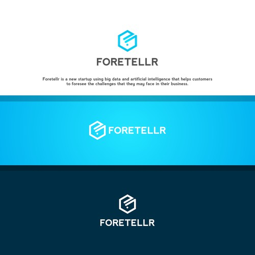 Create a logo for a new tech startup